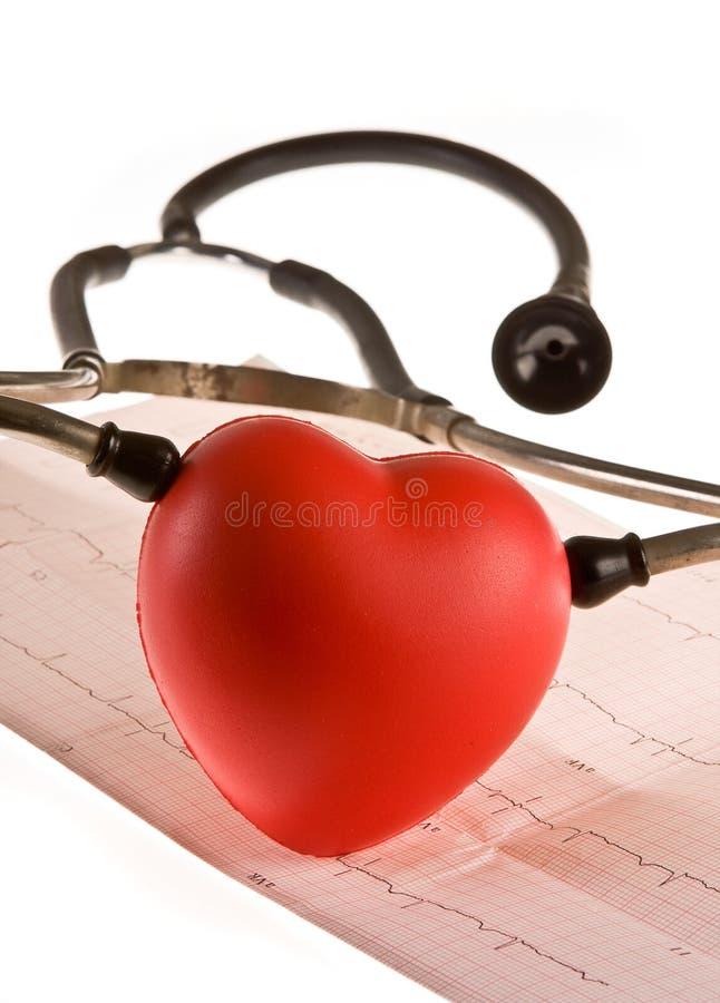 diagnozy serce obraz royalty free