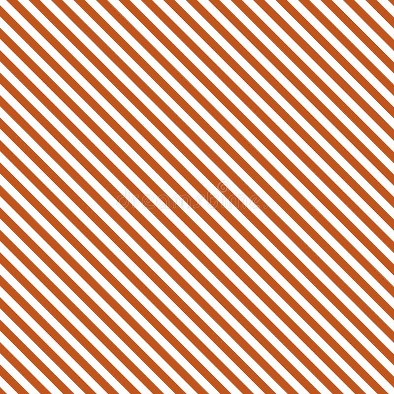 Diagonaal gestreept rood wit Als achtergrond royalty-vrije illustratie