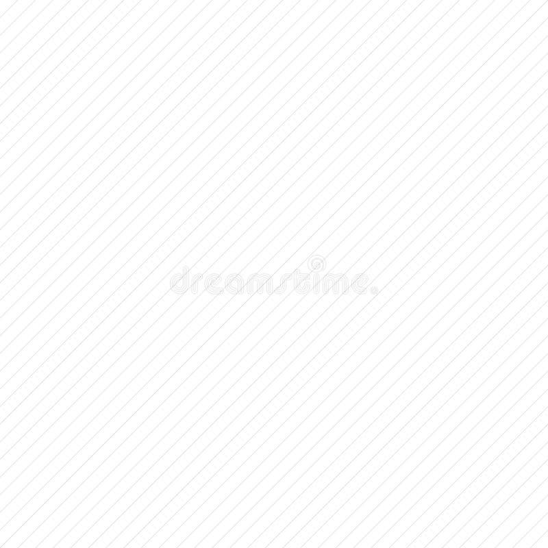 Diagonaal lijnen herhaalbaar patroon - Schuine rechte parallelle Li stock illustratie