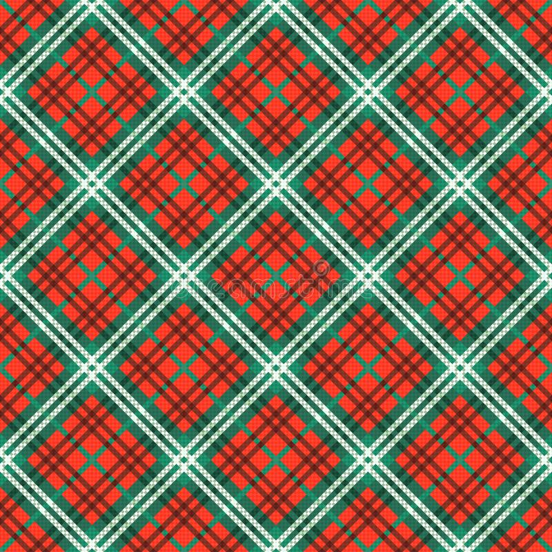 Diagonaal naadloos patroon stock illustratie