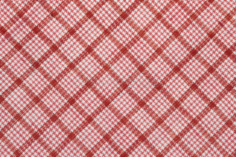 Download Diagonal Checked Cotton Fabric Stock Photo - Image: 11512502