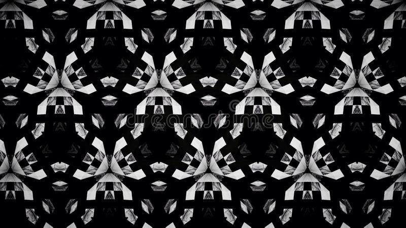 Diagonal Checkerboard Pattern Black And White Color Background