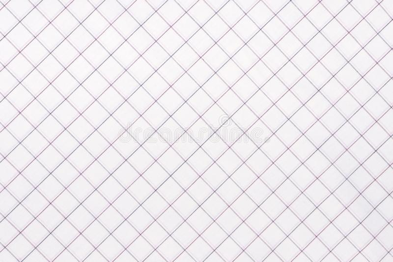 Diagonal Checkered fabric. White and light blue checkered fabric closeup , tablecloth texture. Diagonal Checkered fabric. White and light blue checkered fabric royalty free stock image