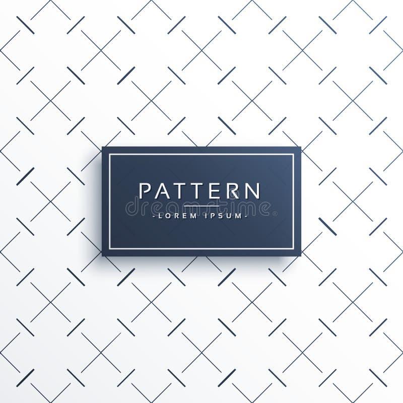 Diagonal crossing lines vector pattern background. Vector vector illustration