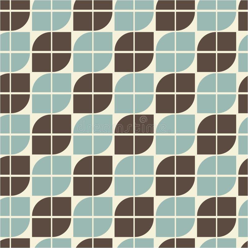 Diagonal färgrik geometrisk bakgrund för vektor, abstrakt sömlöst royaltyfri illustrationer