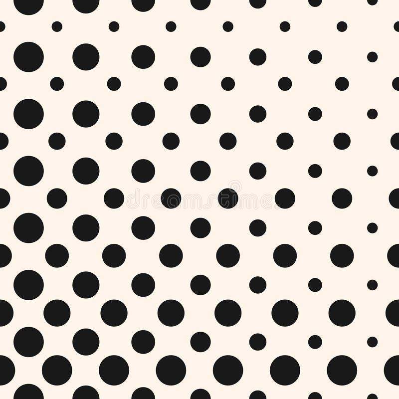 diagonal halftone dots circles vector seamless pattern stock rh dreamstime com halftone vector free halftone vectors in photoshop