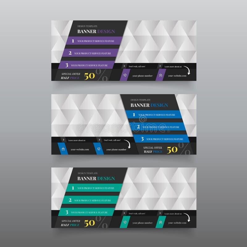 Diagonal material web design banner design template stock photos