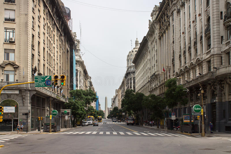 Download Diagonal Norte Buenos Aires Argentina Editorial Stock Photo - Image: 26938768