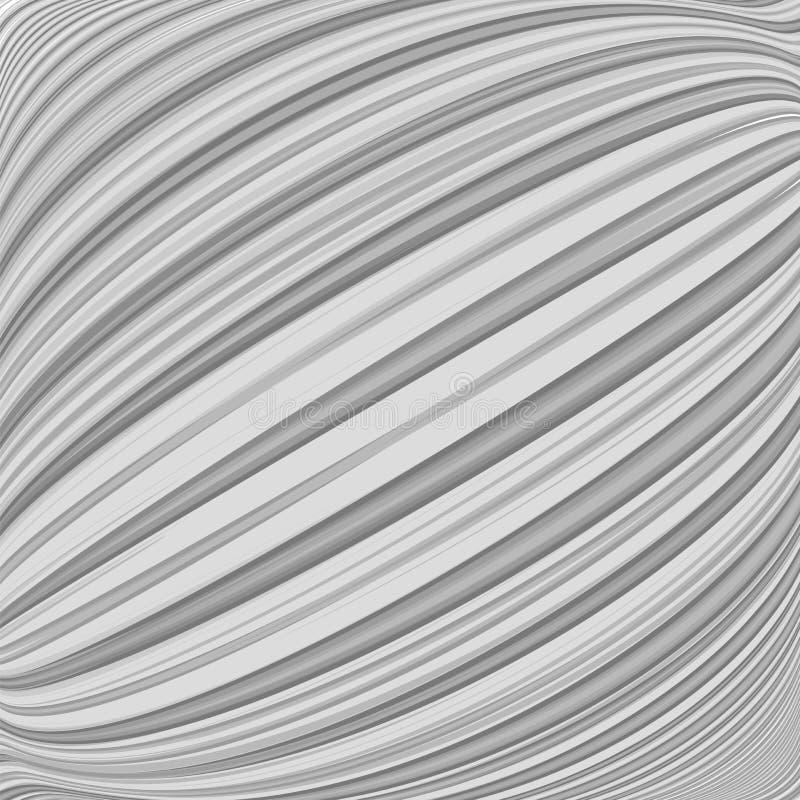 A diagonal paralela do projeto entortada alinha o fundo ilustração stock
