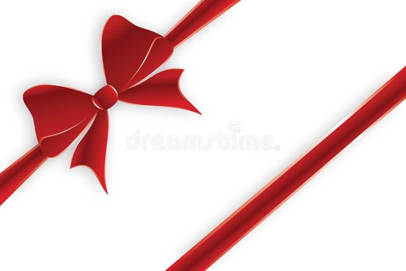 Download Diagonal red ribbon stock vector. Image of love, label - 29163137