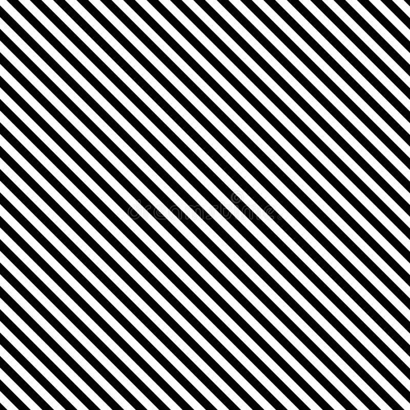 Free Diagonal Striped Background Black White Stock Photography - 125246622