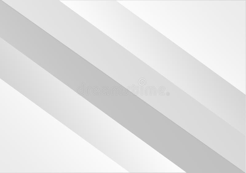 Diagonal striped lines white background design stock illustration