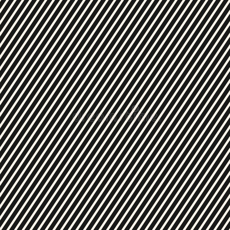 Diagonal stripes pattern. Vector seamless striped texture, thin lines. vector illustration