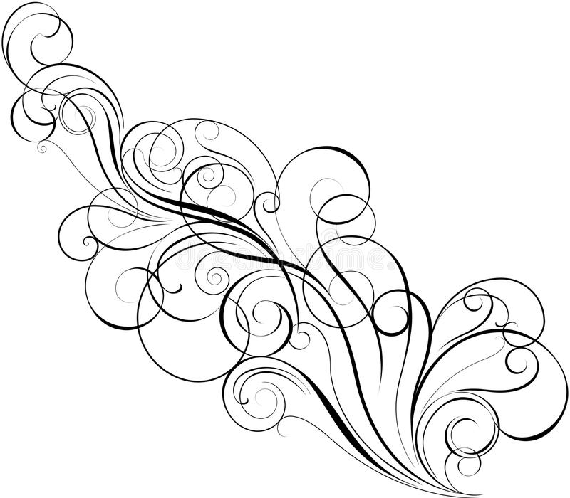 simple swirl designs to draw. download diagonal swirl design stock vector image 54996553 simple designs to draw s