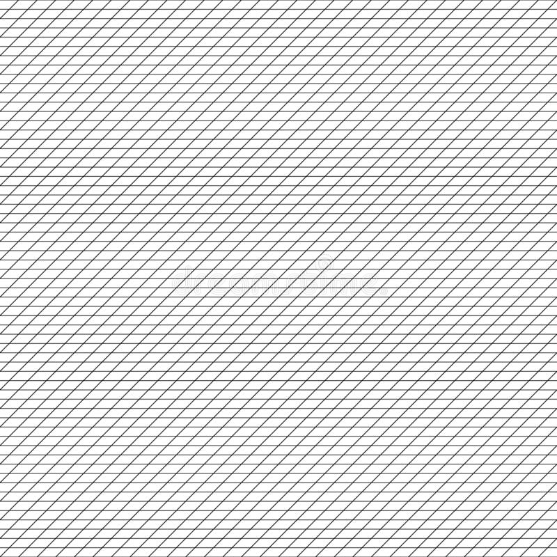 Free Diagonal, Tilt, Lean Units Grid, Mesh, Grating. Regular Angle Lines Lattice Pattern. Plotting, Drafting, Graph Paper Seamless Royalty Free Stock Photography - 159489377