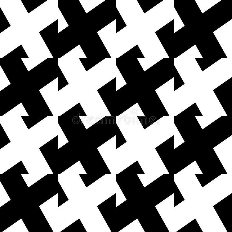 Diagonala linjer repeatable modell - sned raksträckaparallellli royaltyfri illustrationer