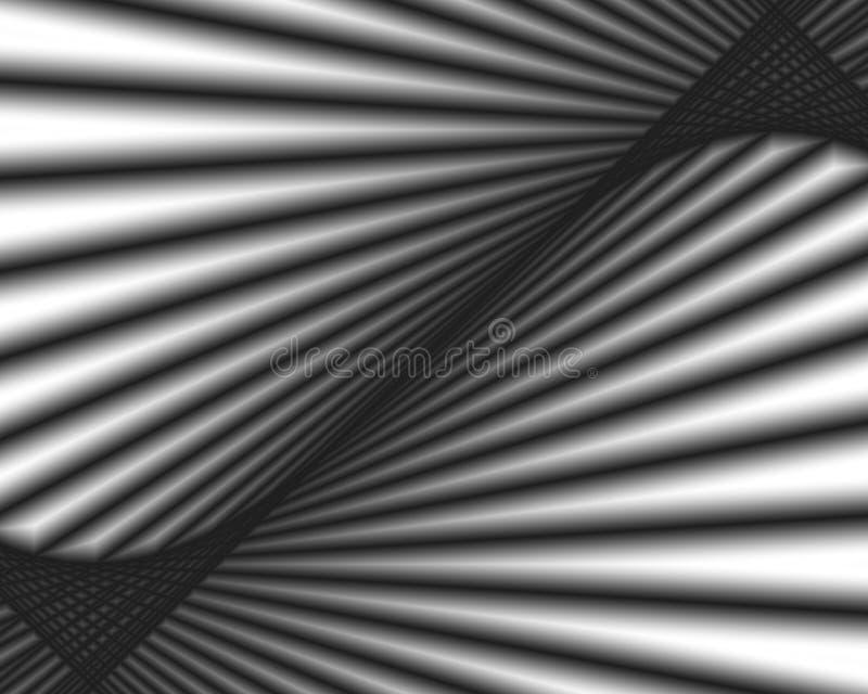 diagonala rør stock illustrationer