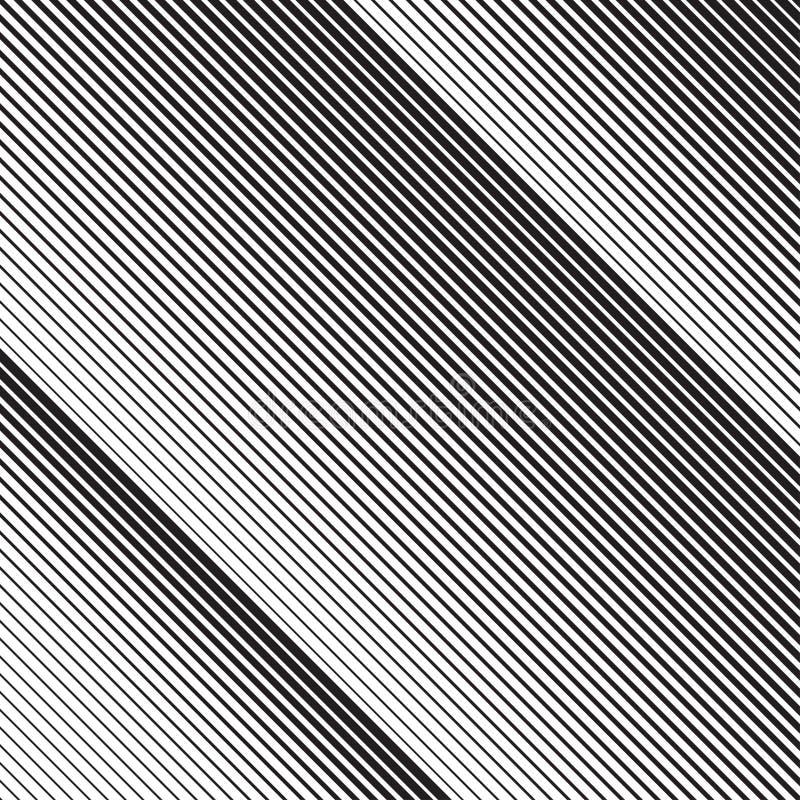 Diagonala sneda lättretliga linjer modell i vektor vektor illustrationer
