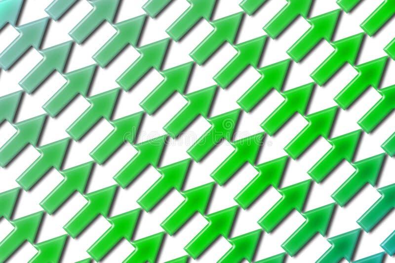 Diagonale 02 delle frecce illustrazione di stock