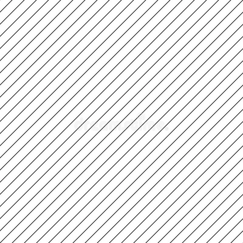 Diagonale dünne Linien nahtloses Muster stock abbildung