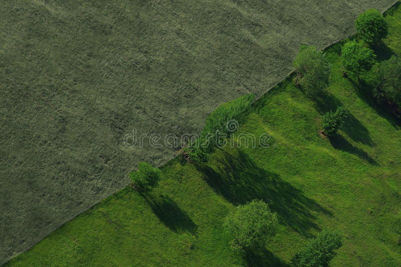 Diagonale del paesaggio fotografie stock