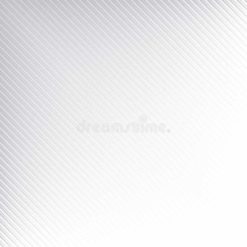 Diagonale gestreepte lijnenachtergrond met zwarte & witte en grijze kleurentonen stock afbeeldingen