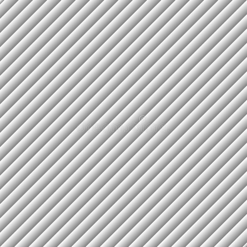 Diagonale Linie steigung streifen schaltung Die Reihenfolge von Linien Zaun Vektorillustration für Druckentwurf, Werbung im Freie lizenzfreie abbildung