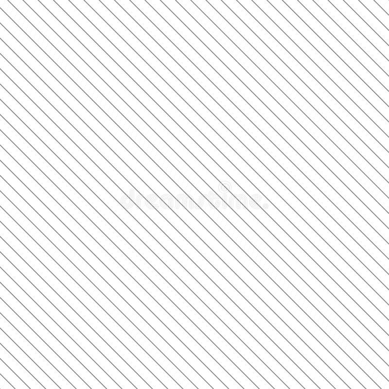 Diagonale Linien Musterhintergrund Gerade Streifenbeschaffenheit stock abbildung