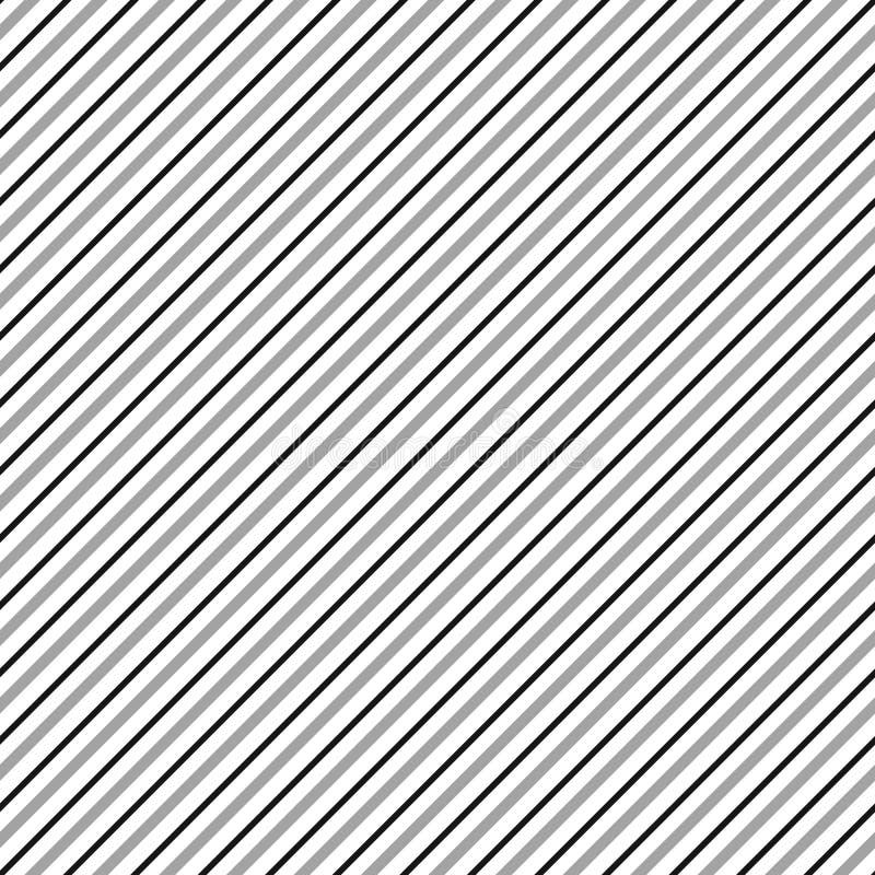 Diagonalen fodrar den sömlösa repeatable modellen Sned lutande li vektor illustrationer