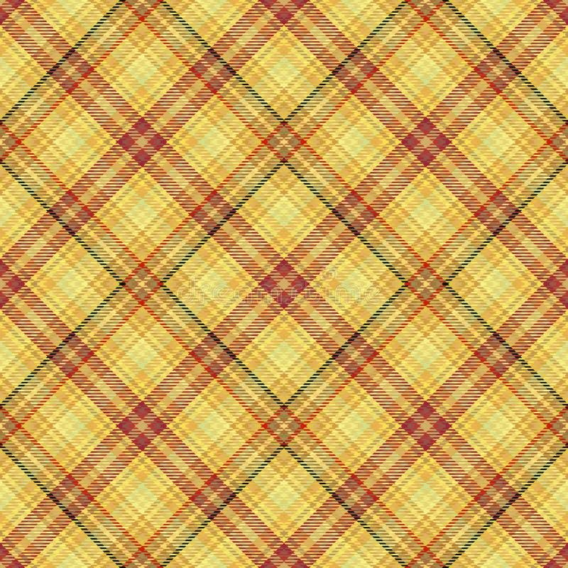 Diagonaler Schottenstoff des Gewebes, Mustergewebe, Englisch traditionell vektor abbildung