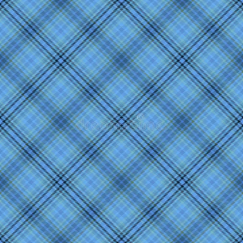 Diagonaler Schottenstoff des Gewebes, Mustergewebe, englisches Quadrat lizenzfreie abbildung