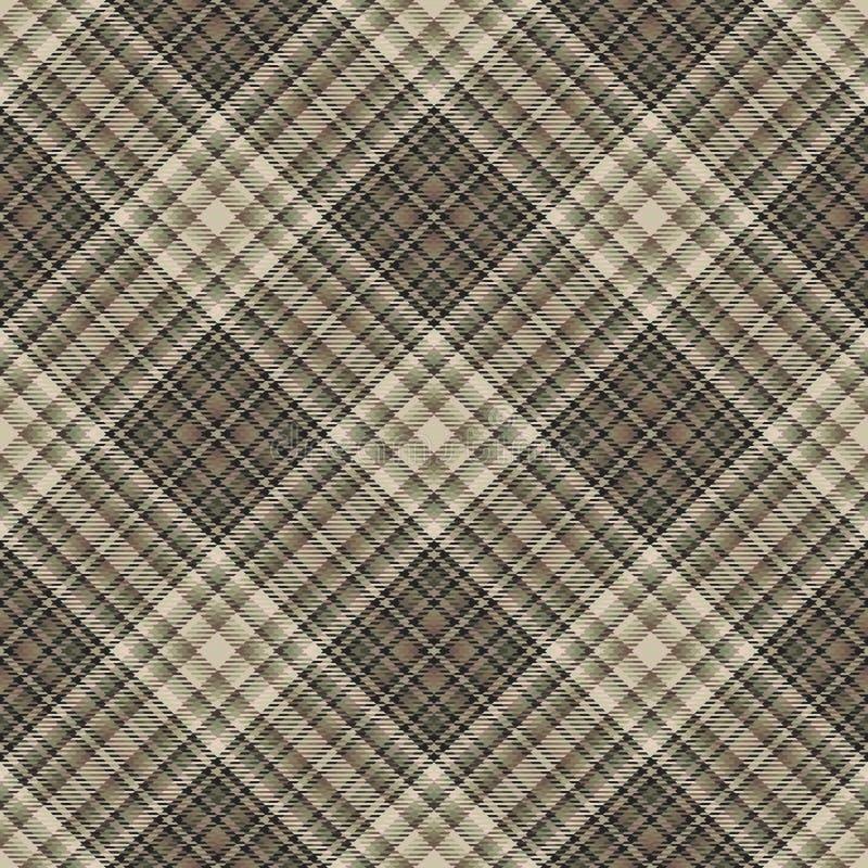 Diagonaler Schottenstoff des Gewebes, Mustergewebe, Iren traditionell lizenzfreie abbildung