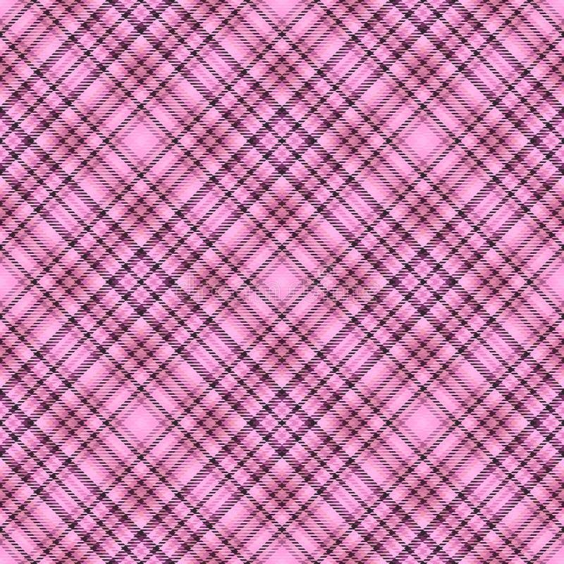 Diagonaler Schottenstoff des Gewebes, Mustergewebe, kariertes traditionelles vektor abbildung