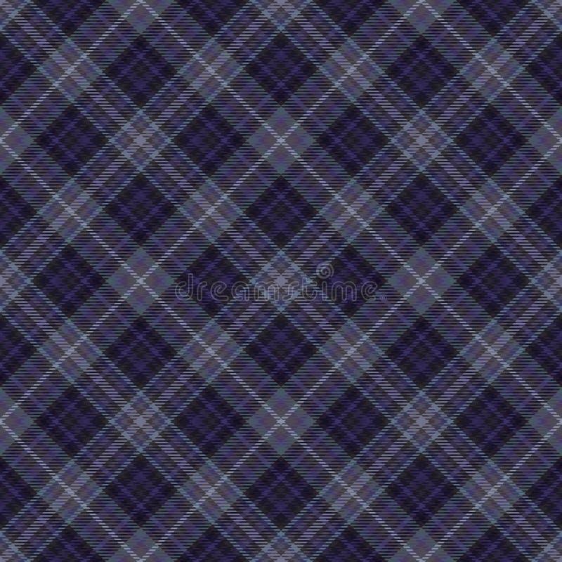 Diagonaler Schottenstoff des Gewebes, Mustergewebe, keltisches Material lizenzfreie abbildung