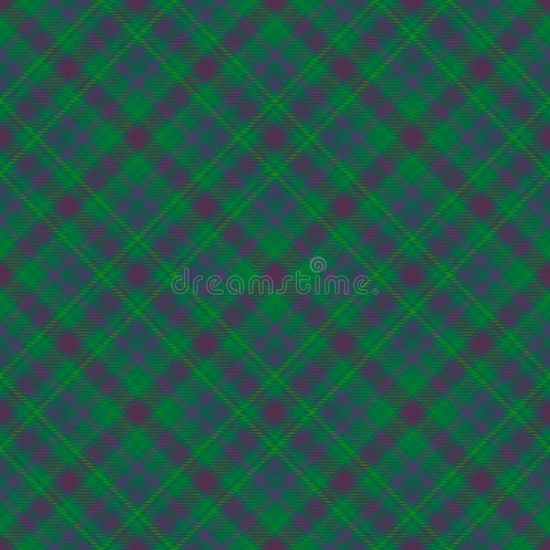 Diagonaler Schottenstoff des Gewebes, Mustergewebe, Klassiker stock abbildung