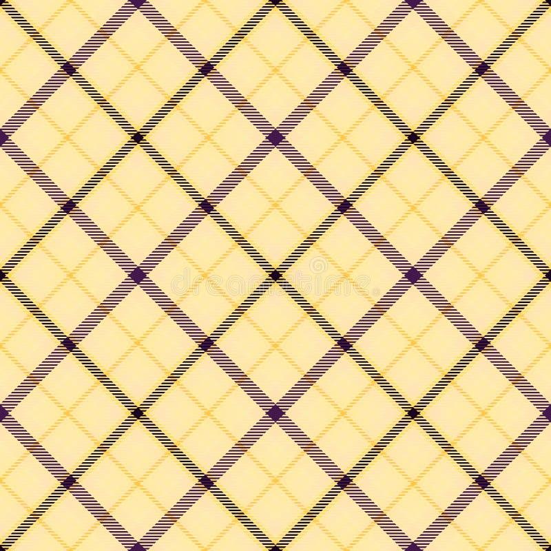 Diagonaler Schottenstoff des Gewebes, Mustergewebe, nahtlose Beschaffenheit lizenzfreie abbildung