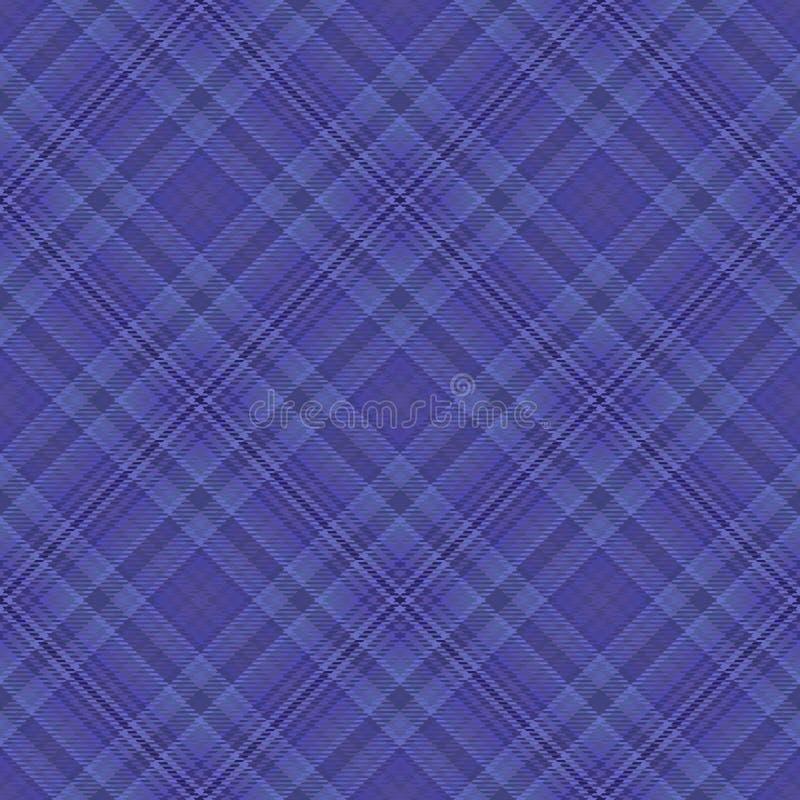 Diagonaler Schottenstoff des Gewebes, Mustergewebe, nahtloses keltisches vektor abbildung