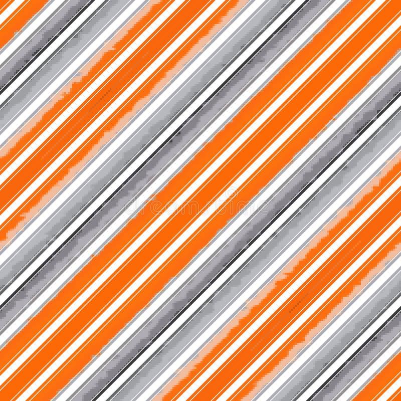 Diagonalny lampas linii wz?r bezszwowy, tekstura biel ilustracji