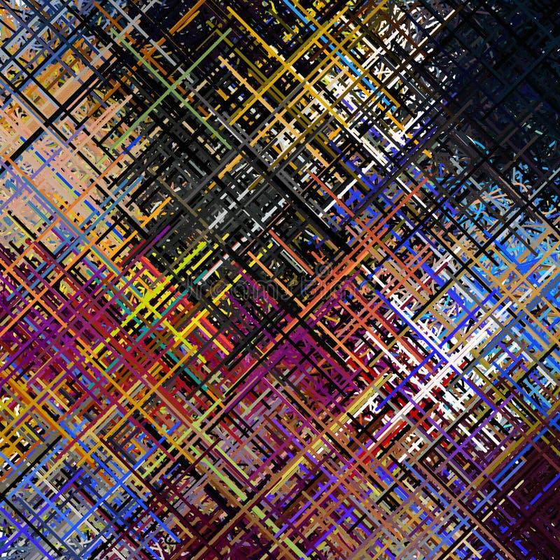 Diagonalny linii sztuki abstrakt ilustracja wektor