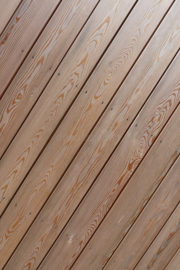 diagonalny tekowy drewno zdjęcia stock