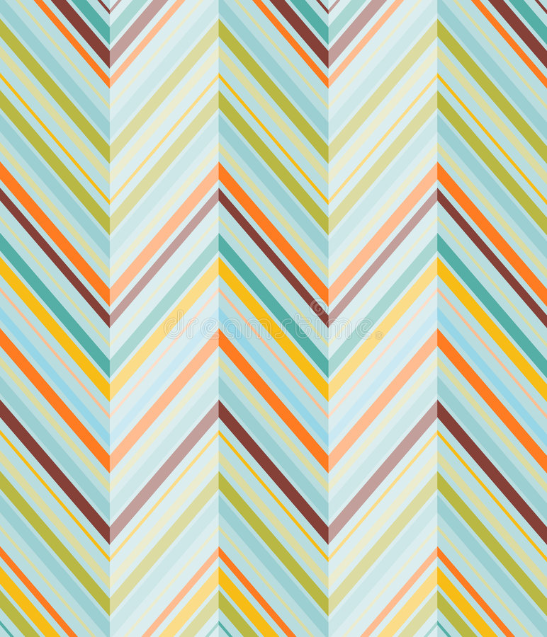 Diagonals - Turquiose Royalty Free Stock Photography