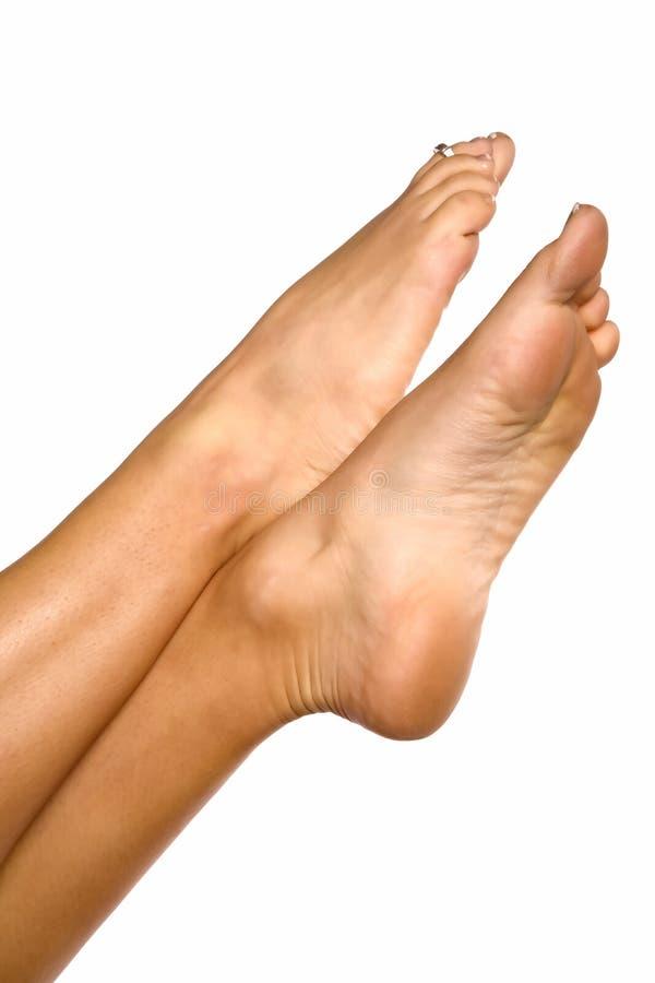 diagonaly piedi due immagine stock