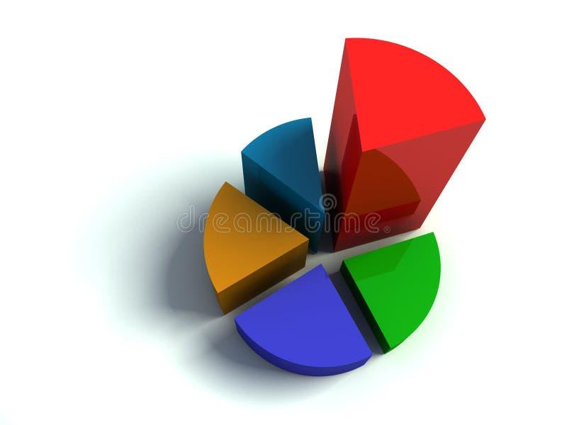 diagram vektor illustrationer