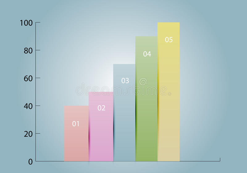 Diagram. Element of infographics. Diagram template vector illustration royalty free illustration