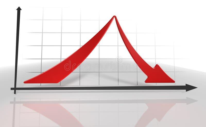 diagram 3d stock illustrationer