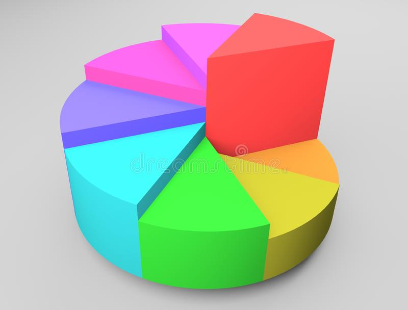 Diagram stock image