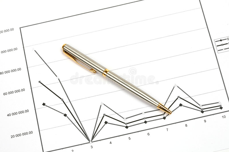 Download Diagram stock photo. Image of chart, pencil, close, market - 9150534