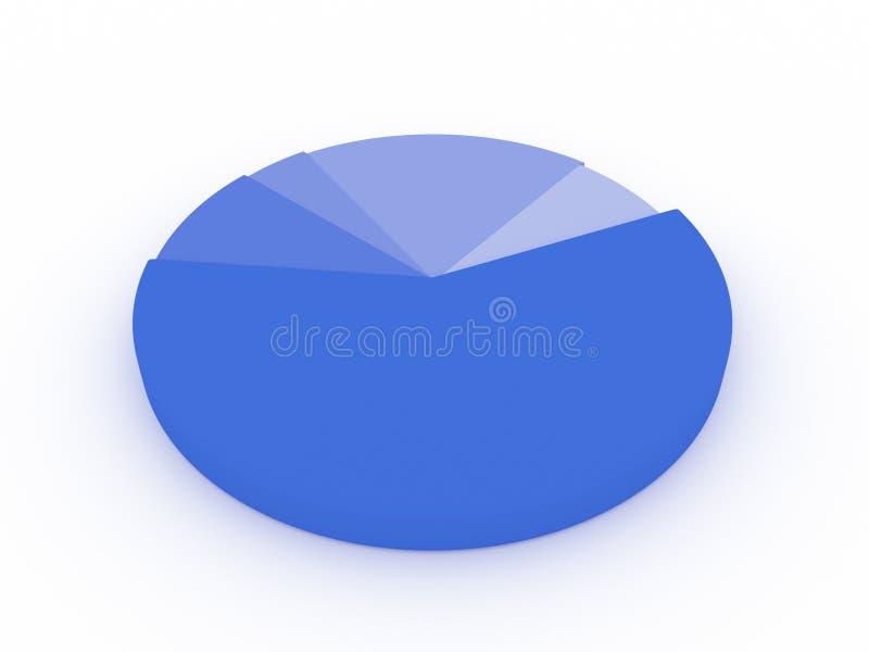 Diagram royalty-vrije stock foto