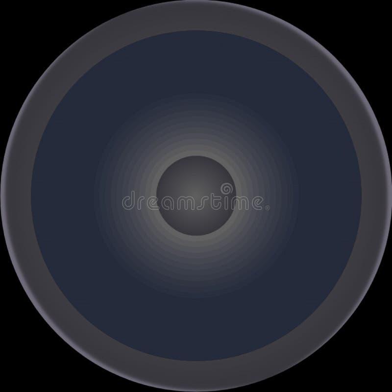 Diagram-formad högtalare royaltyfria foton