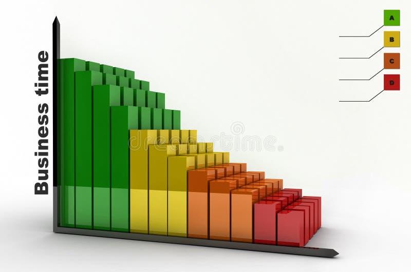 Diagram graf royaltyfri bild